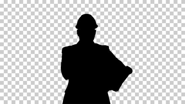 Thumbnail for Silhouette Concept of start up business architects, engineer