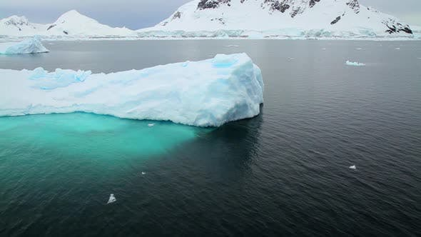 Thumbnail for Sailing past icebergs in Antarctica
