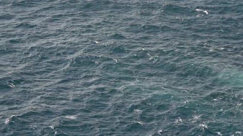 Hochwinkelaufnahme Von Meer