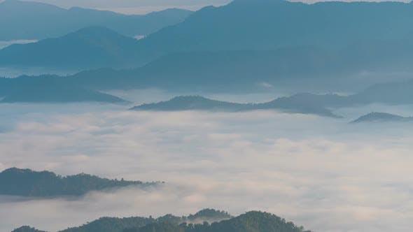 Thumbnail for Fog Mountain Landscape