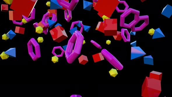 Thumbnail for Colorful Geometric 01 4k