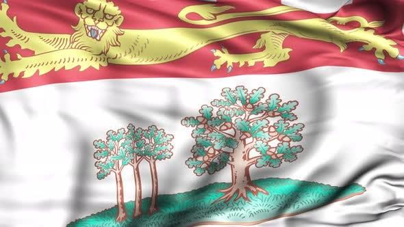 Prince Edward Island Province Flag