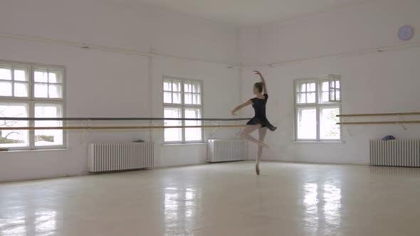 Thumbnail for Ballerina doing pirouettes