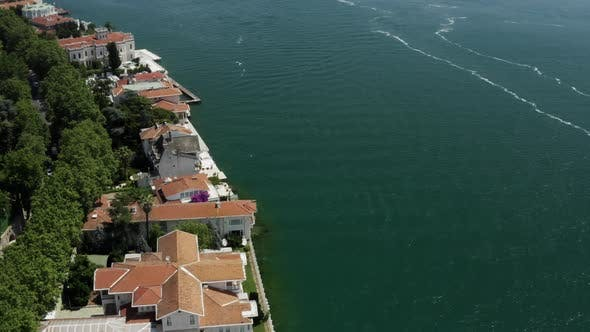 Thumbnail for Sea And Waterside Houses Aerial View