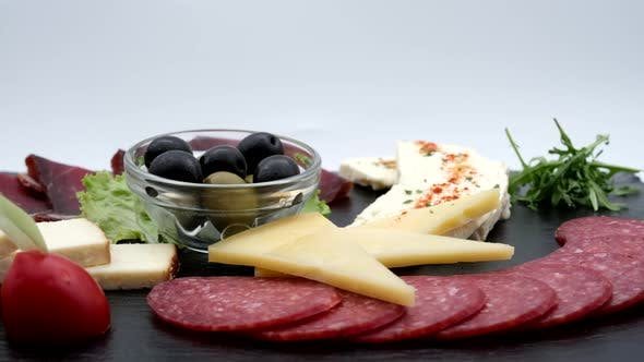 Delicious Restaurant Food Appetizer Cold Plate