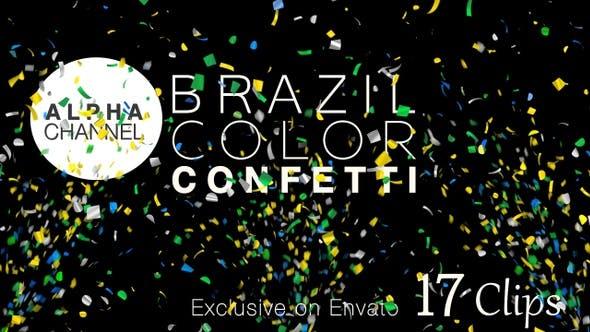 Thumbnail for Brazil Color Confetti