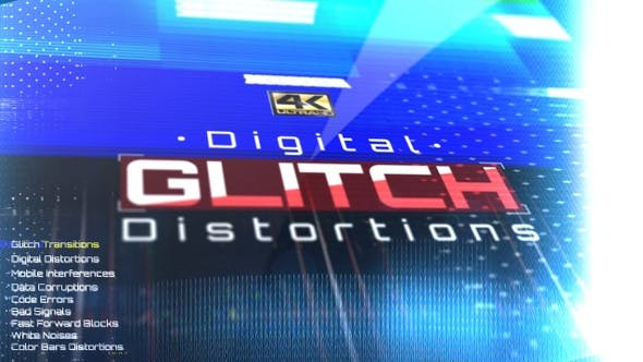 Thumbnail for Digital Glitch Distortions