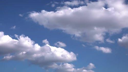 Slowly Winter Rain Clouds