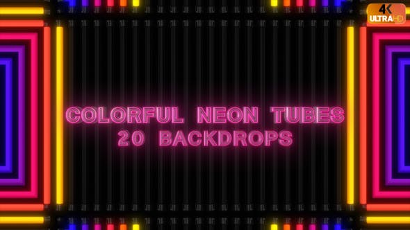 Thumbnail for Colorful Neon Tubes