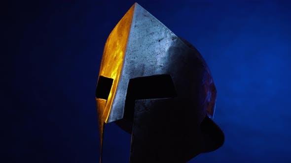 Thumbnail for Iron Spartan Helmet Moving Left