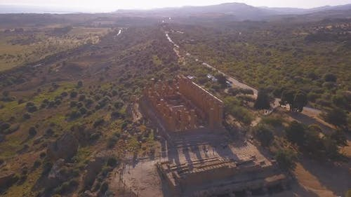 ancient Greek city on the south coast of Sicily