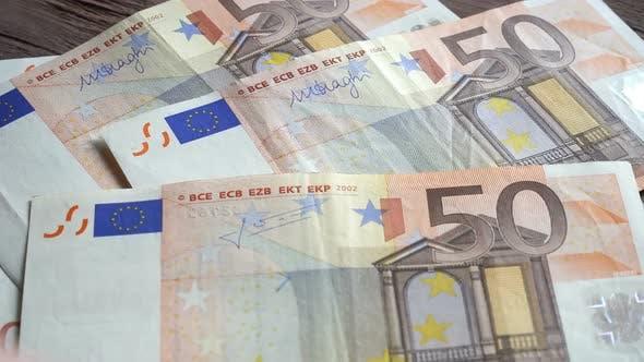 Thumbnail for Man Counting Euro Banknotes 6