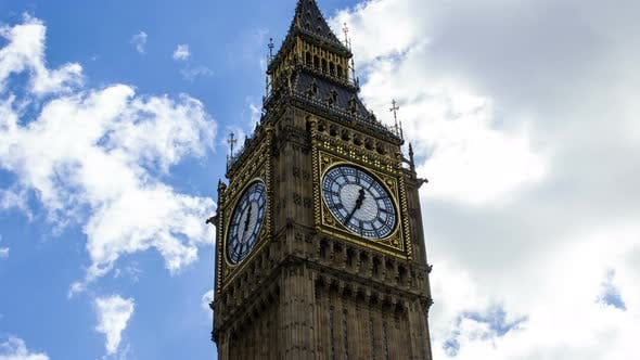 Thumbnail for Big Ben, Time Lapse, London