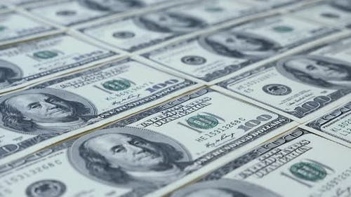 Amerikanischer Dollar.  Geld