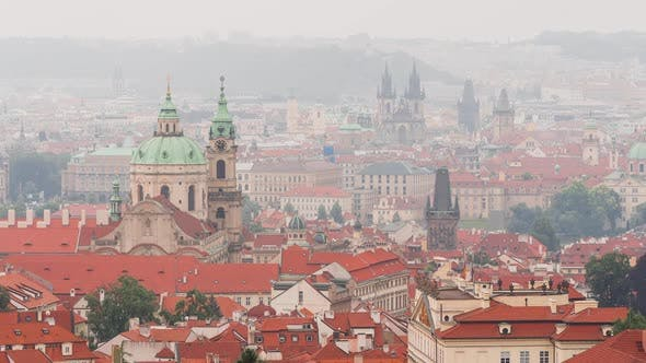 Thumbnail for View Of Prague Historical Center 3