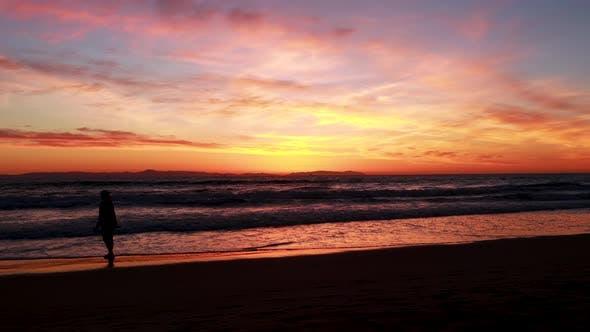 Thumbnail for Enjoying the Sunset