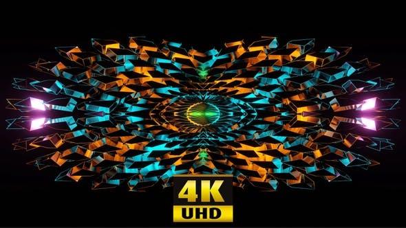 Vj Disco Kaleidoscope Pack 4K