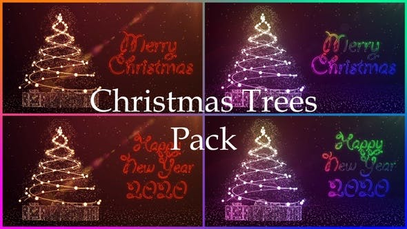Christmas Trees Pack
