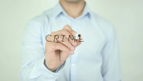 Thumbnail for CRIME, Writing On Screen