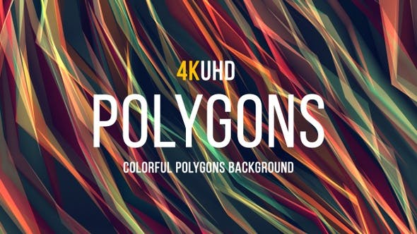 Thumbnail for Colorful Polygons Background