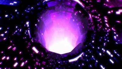 Digital Tunnel Background