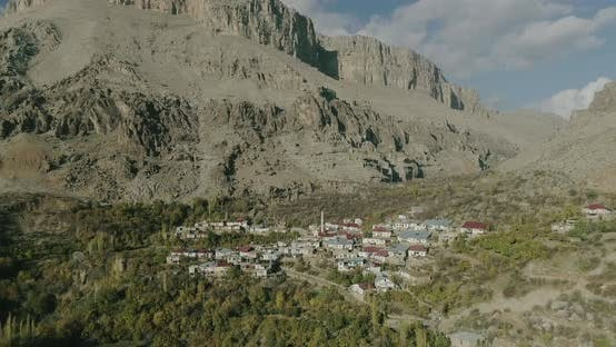 Thumbnail for Diyarbakir Mountains And Village Aerial View 8