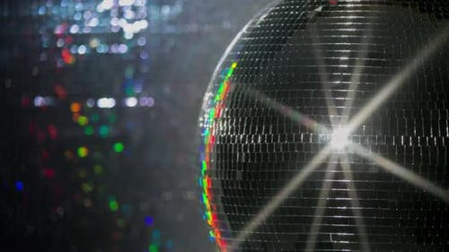 colourful discoball mirrorball glitterball party disco music club rave