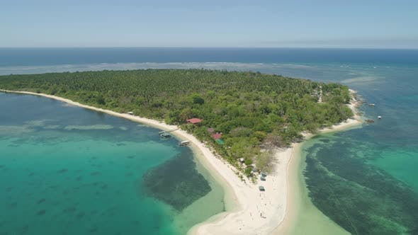 Cover Image for Tropical Island Magalawa with Beach