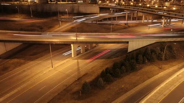 Thumbnail for St Paul Freeway Time Lapse