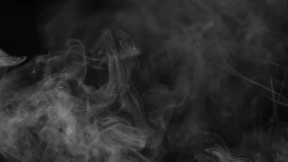 Thumbnail for White Smoke Rising And Spreading