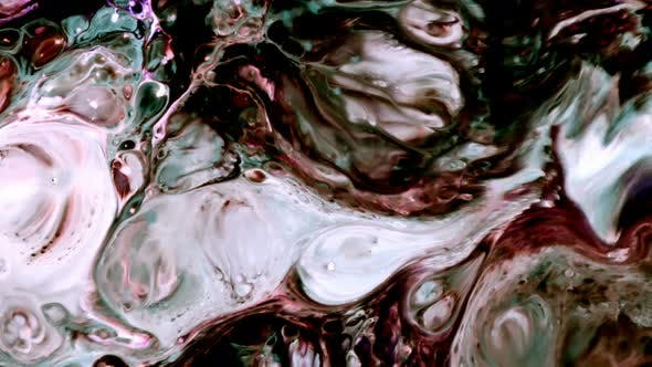 Thumbnail for Abstract Art Ink Paint Spread Explode Background 29