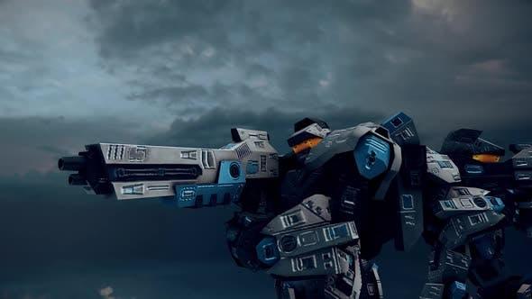 Fighter Robots In A War 02 Hd