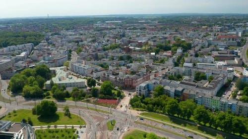 Aerial View of Urban Neighbourhood