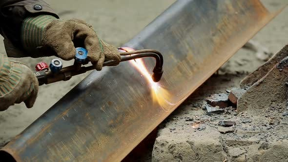 Thumbnail for Cutting of Steel Metal