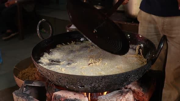 Murukku Indian Street Food Rajasthan State in Western India