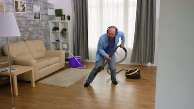 Vacuuming, Singing and Dancing