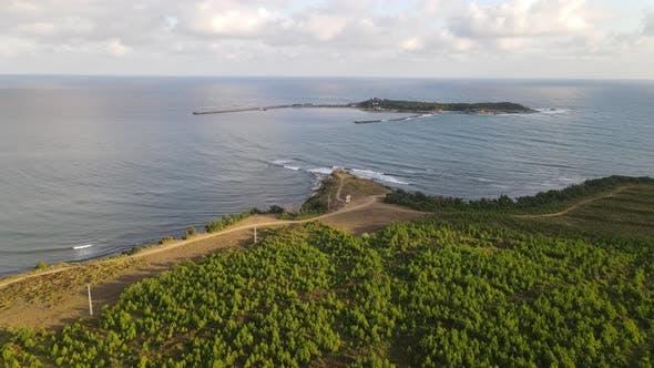 Ocean Coast Island