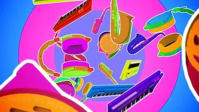 Fullcolor Musical Instrument