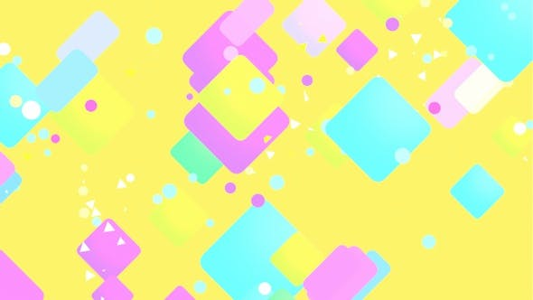 Gelbe Quadrate