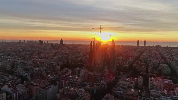 Thumbnail for Barcelona Aerial View