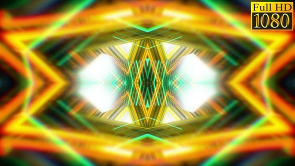 Thumbnail for Abstract Kaleidoscope Vj Loops V11