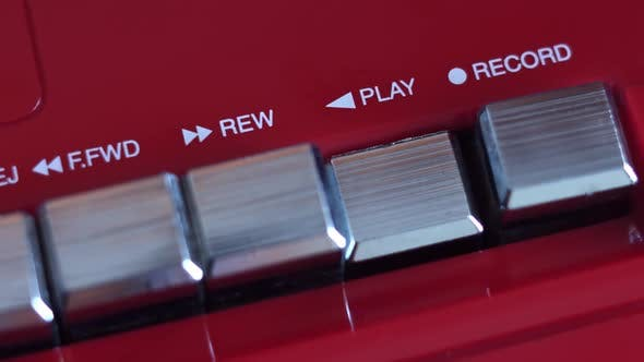 Thumbnail for Play Button On The Tape Recorder
