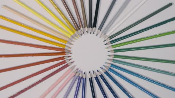 Thumbnail for Color Pastel Pencil Circle