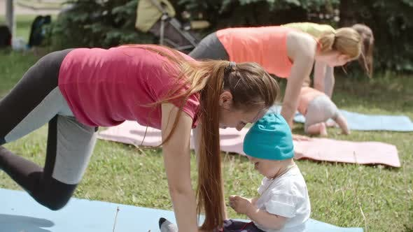 Thumbnail for Plank Exercises for Young Moms