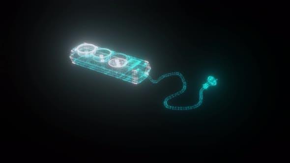 Thumbnail for Electric Socket Hologram 4k