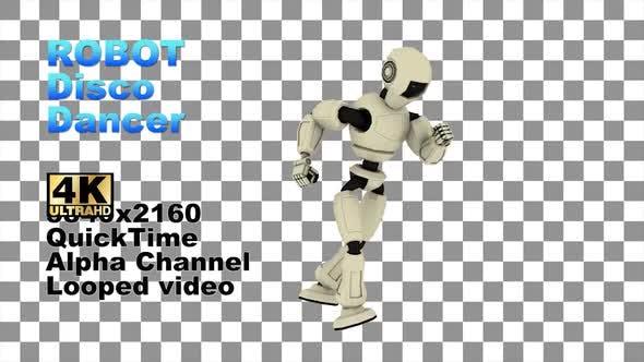 3d Alpha Robot Disco Dancer