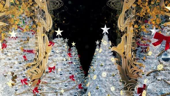 Thumbnail for Christmas Art Nouveau 4K
