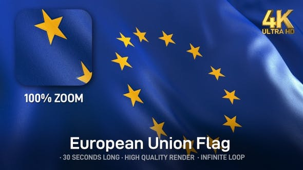 Thumbnail for EU Flag - 4K