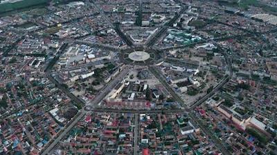 Cityscape of Turks Bagua City