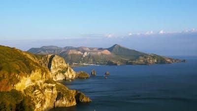Vulcano Island, Aeolian Islands in Sicily